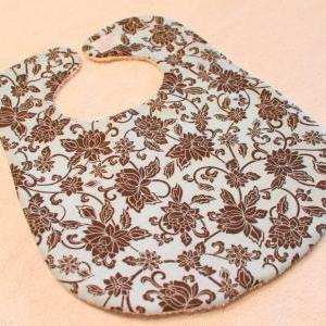 Baby Girl Blue with Brown Flowers B..