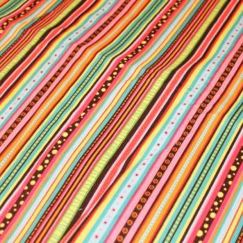 CLEARANCE Baby Girl Rainbow Stripes Corduroy Fitted Crib Sheet